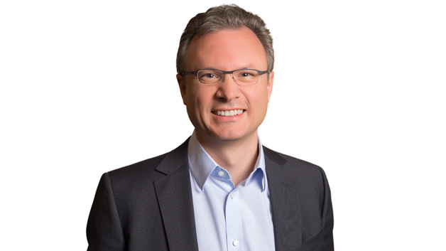 """Tyson Tuttle, CEO Silicon Labs, hält die Conference Keynote 2015:  """"Engineering the IoT: An RF Expert's View on Technology Challenges"""""""