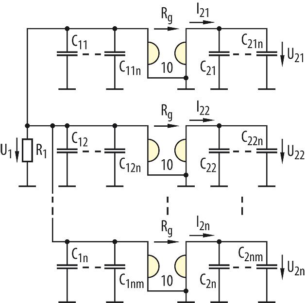 Bild 1. Gyratoren mit Halbleiterkondensatoren.