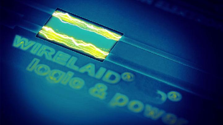 Wirelaid-Technik für Hochstrom-Applikationen