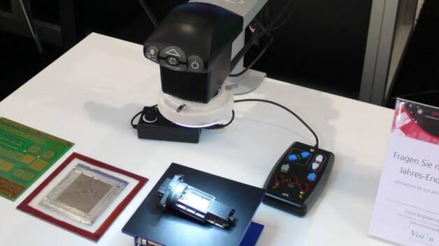 Das Videoinspektionssystem »VisionZ2« von Vision Engineering als Messeneuheit auf der electronica