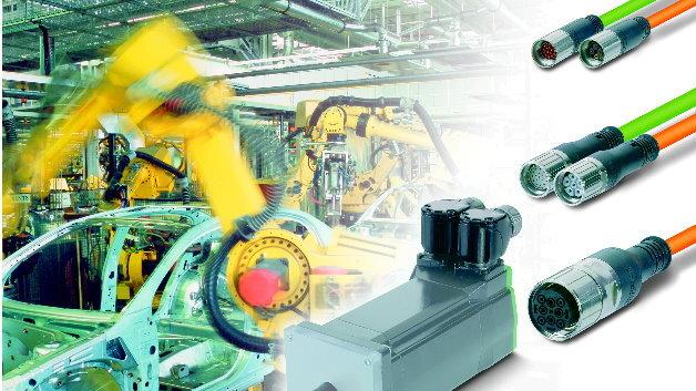 Kunststoff-umspritzte Steckverbinder für raue Einsatzbedingungen.