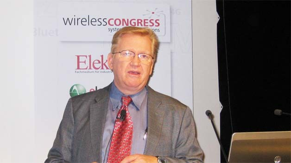 Dale Ford vom Marktforschungsinstitut IHS brachte hochinteressante Fakten zum gesamten Wireless-Markt.