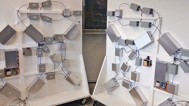 Funkvernetzung im Nahbereich genannt Short-Range Wireless Network ist auf dem Vormarsch