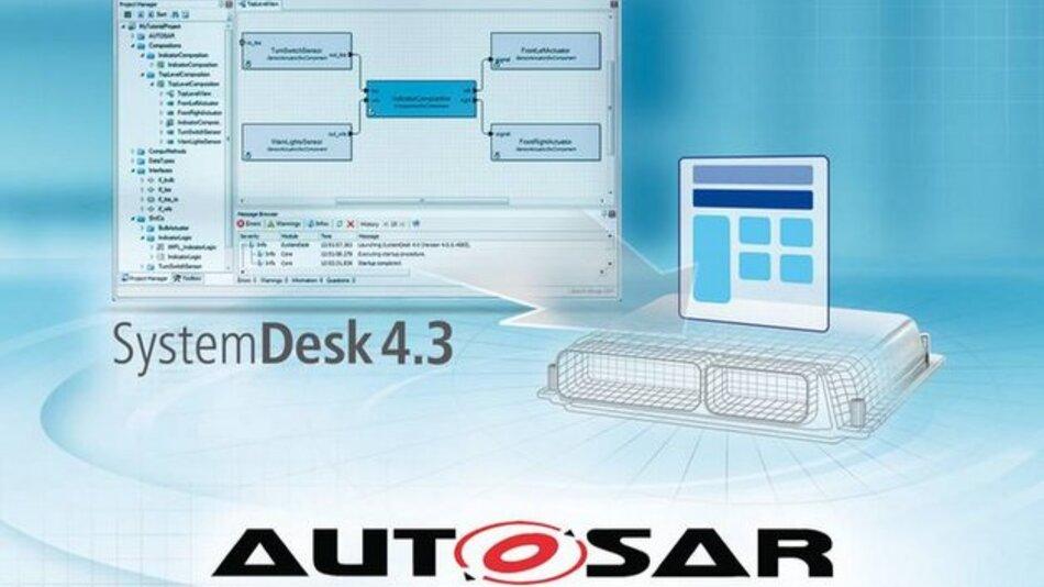 Mit SystemDesk 4.3 generierte virtuelle ECUs ermöglichen schnelle und einfache Tests neuer Steuergeräte-Funktionen ohne Hardware-Prototypen.