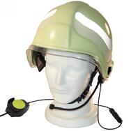 Fire-Talk mit Helm