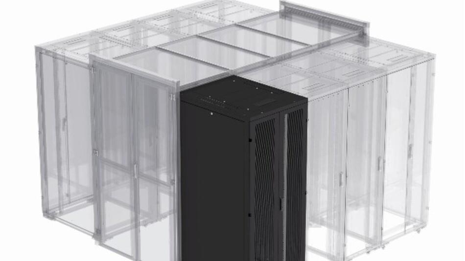 REC heißt Eatons modulares 19-Zoll-Racksystem mit optimierten Luftströmungseigeschaften.