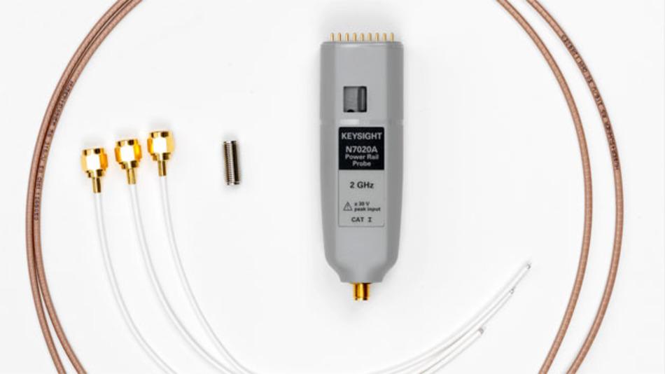 Einen beachtlichen Offsetbereich und eine Bandbreite von 2 GHz sind Merkmale der neuen Tastköpfe N7020A von Keysight