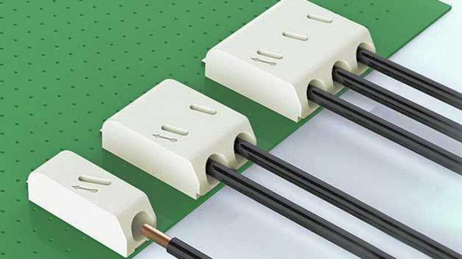 Die bei SE Spezial-Electronic erhältliche Klemmverbinder-Serie DG2002 von Degson