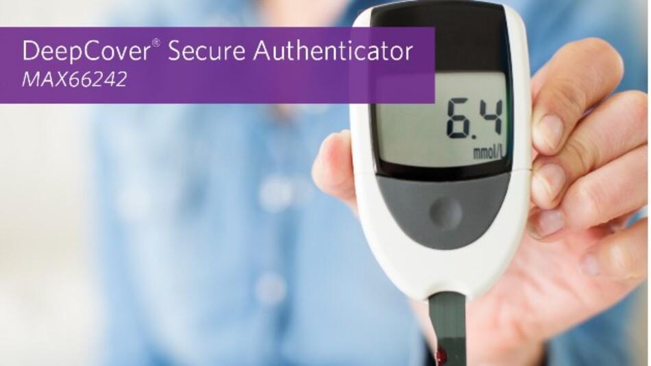 Maxims sicherer Authenticator MAX66242 hat eine Energy-Harvesting-Funktion und kombiniert die NFC/RFID-Schnittstelle mit einem I2C-Interface.