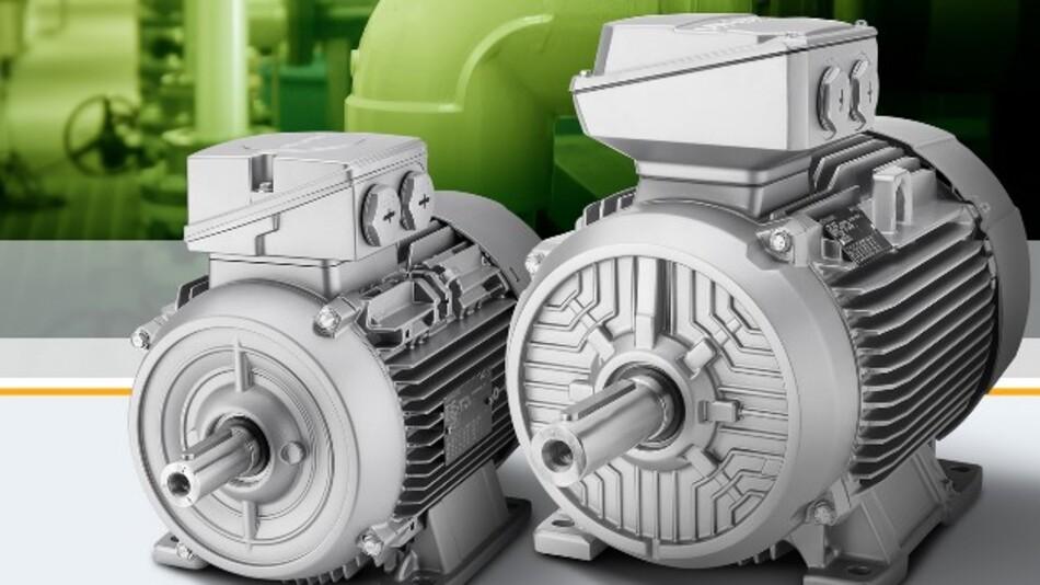 Der Wirkungsgradklasse IE4 als höchste definierte Motoreffizienzklasse entsprechen die Asynchron-Niederspannungsmotoren der Serien »Simotics GP« und »Simotics SD« von Siemens.