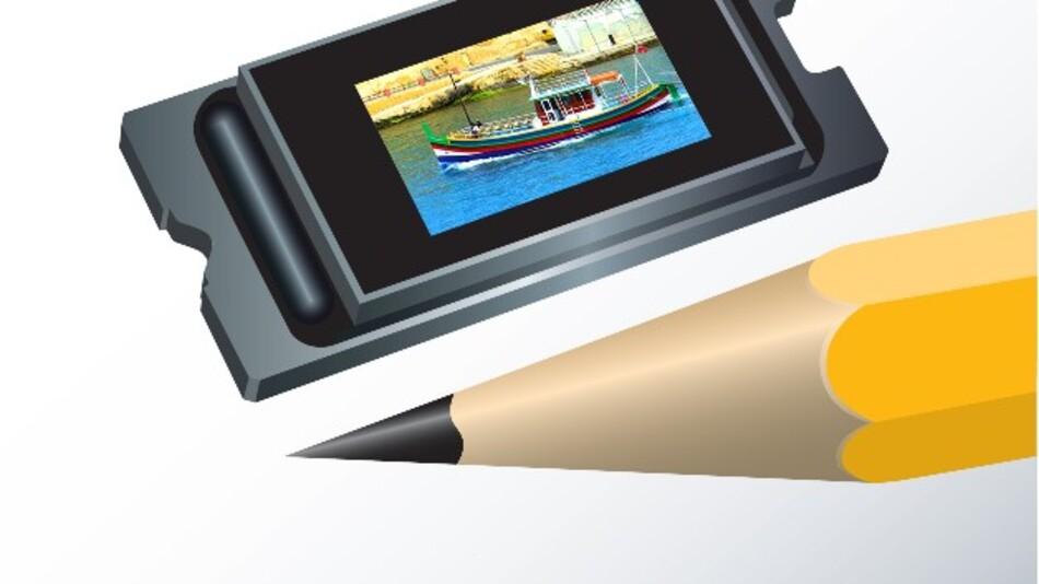 TI bemustert derzeit den stromsparenden, nur 0,47 Zoll großen DLP-TRP-1080p-Chipsatz für Full-HD-Projektion.
