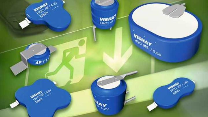 Bild 1. Die Kondensatoren der Serie196 HVC Enycap enthalten bis zu sechs Zellen und liefern Kapazitätswerte von 4 bis 90F(!).