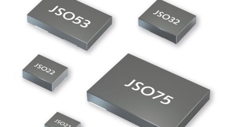 Jauchs MEMS-Oszillatoren der »JSO LC«-Serie gibt es mit Ausgangsfrequenzen von 1,0 bis 137,0 MHz.