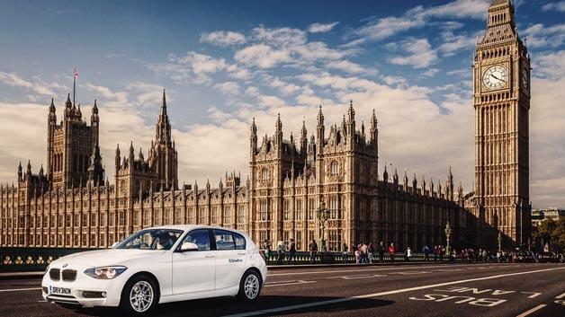 DriveNow gibt es ab sofort auch in London.