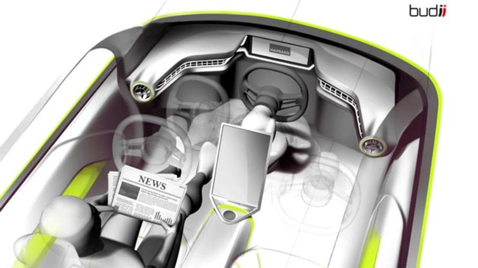 """Rinspeeds CEO Frank M. Rinderknecht: """"Der Übergang vom traditionellen zum autonomen Fahren wird in Etappen verlaufen."""
