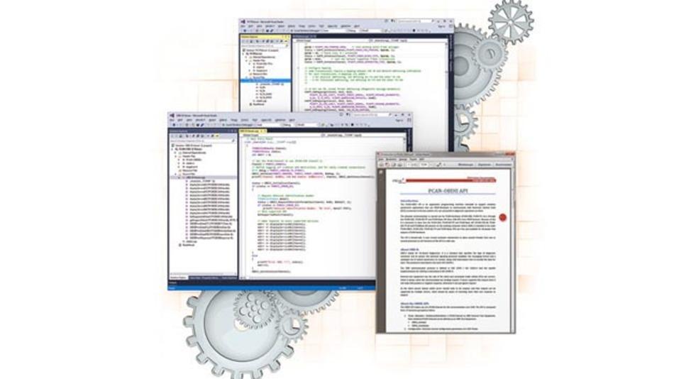 PCAN-ISO TP, PCAN-UDS und PCAN-OBD-2 von Peak-System