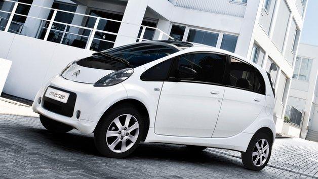 Der Citroën C-Zero hat eine Reichweite von rund 150 km.
