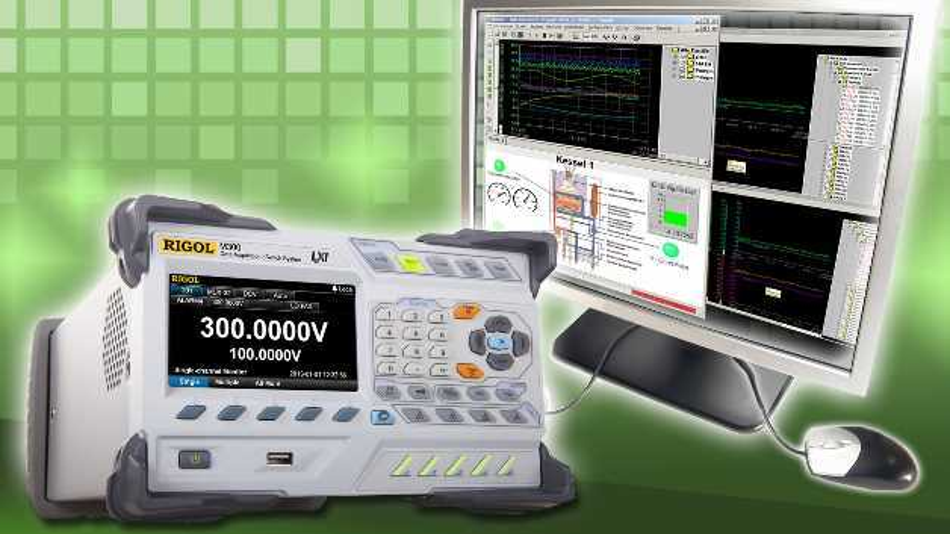 Die PC-Software MCPS unterstützt nun auch das Datenerfassungssystem  M300 von Rigol.