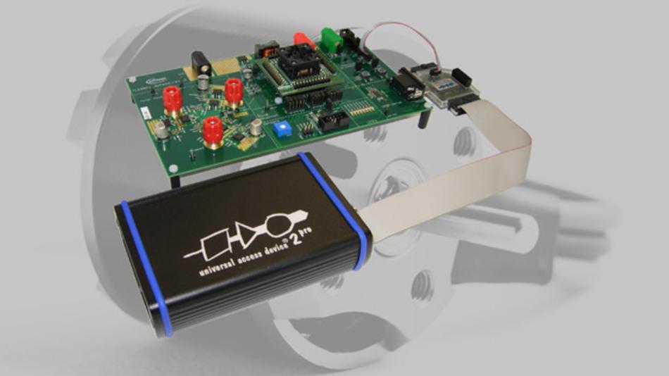 Die Version 4.3.4 der Universal Debug Engine (UDE) von PLS unterstützt die bausteinspezifischen Test- und Debug-Funktionen der neuen Embedded-Power-ICs von Infineon.