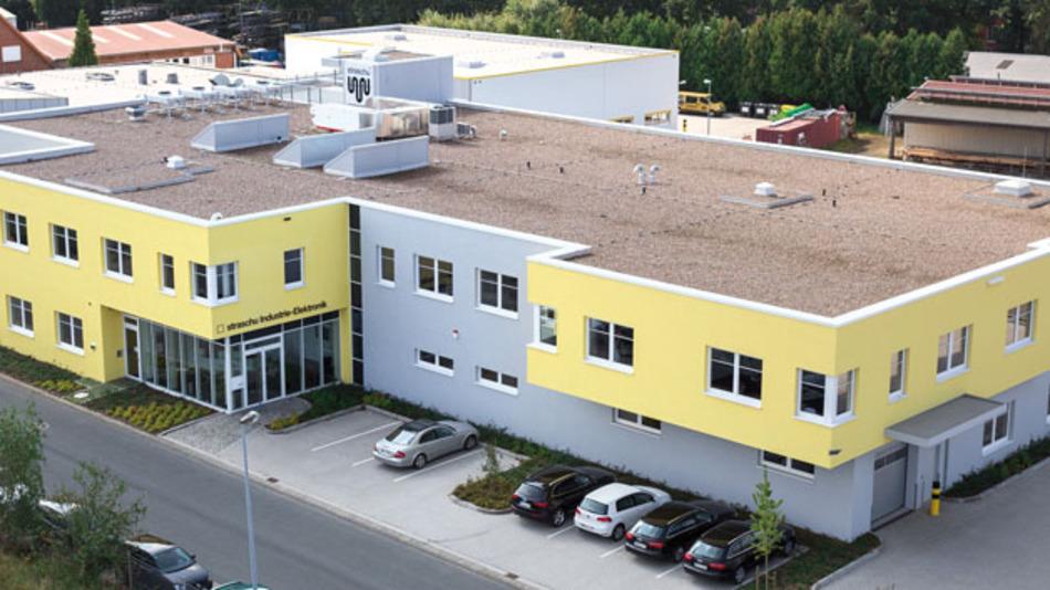 Der Neubau der straschu Industrie Elektronik in Stuhr bei Bremen
