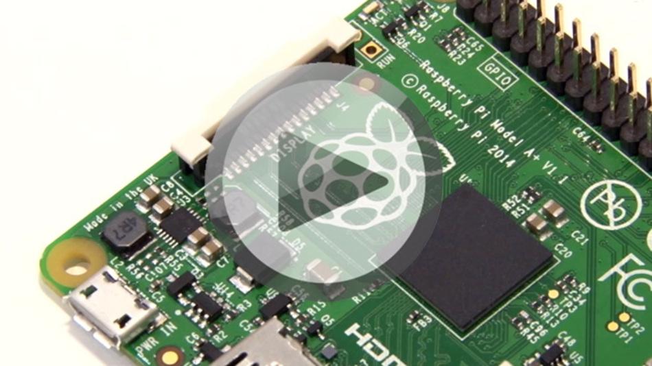 Der Raspberry Pi Modell A+ wurde auf der electronica 2014 vorgestellt
