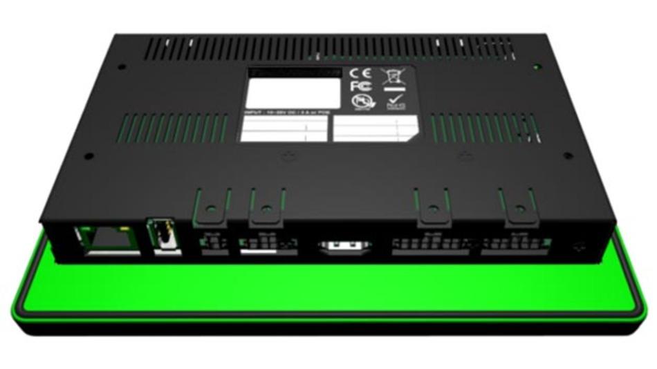 Das Tucan0700-System hat eine reichhaltige Schnittstellenausstattung.
