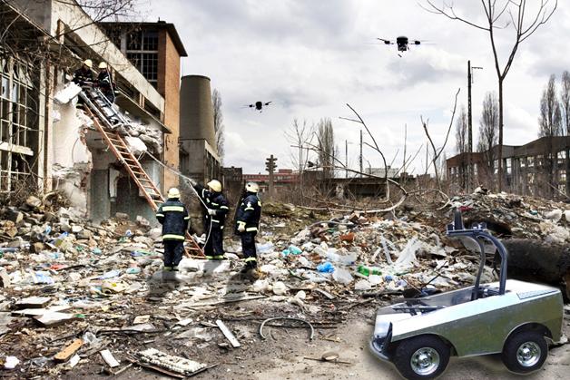 So kann es nach einem Erdbeben aussehen.