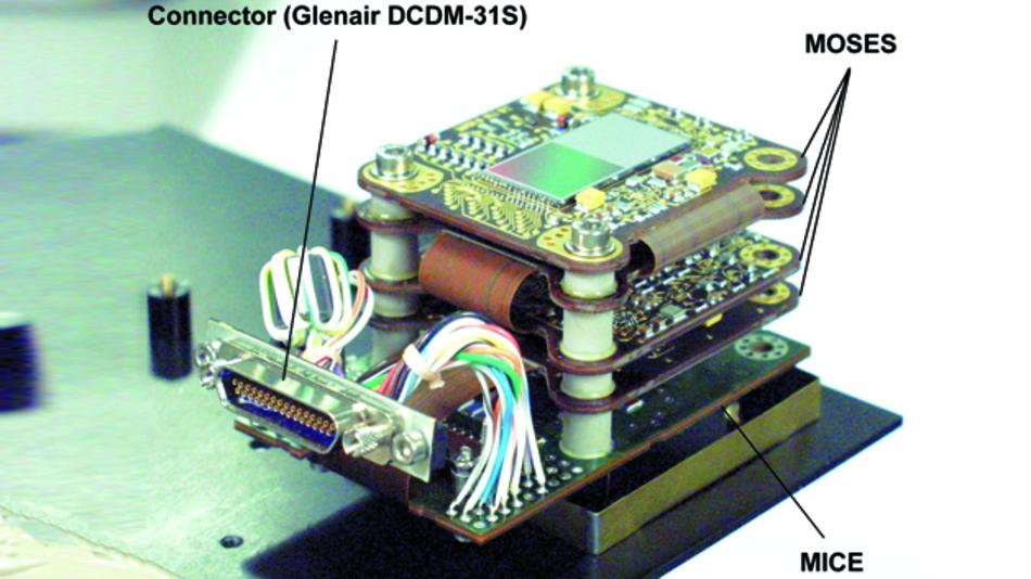 Die Kamera basiert auf einer Leiterplatte von tecnotron.