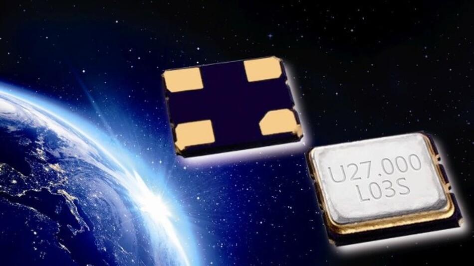 Eine Frequenz von 16,368 MHz haben Utechs TXCOs im SMD-Gehäuse (Vertrieb: quarzwerk 01) für GPRS.