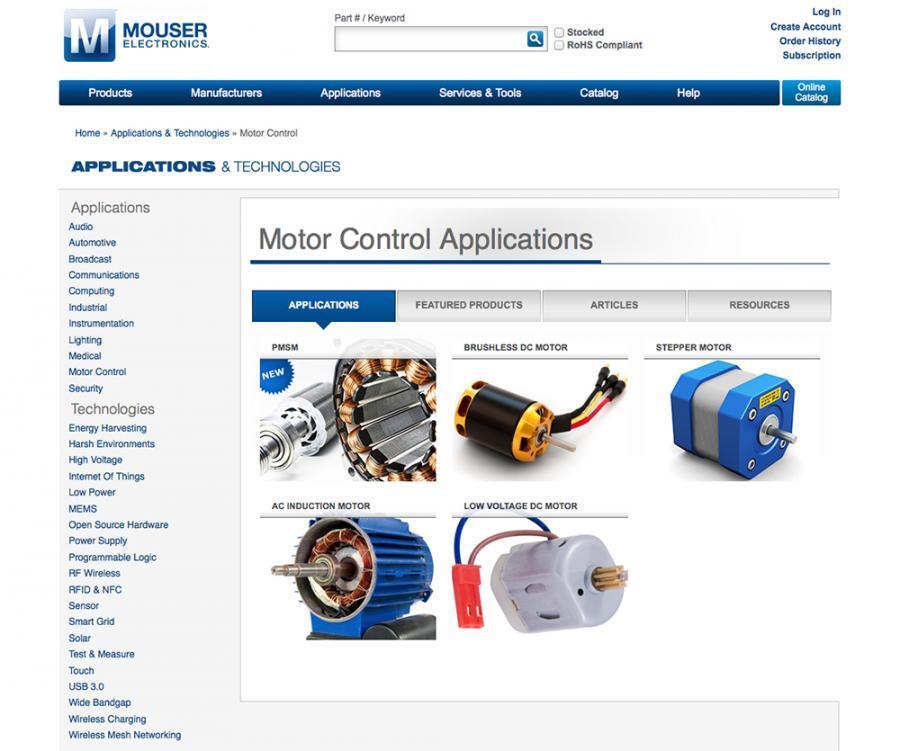 Mouser schaltet weitere Microsite frei: Alles Wissenwerte zu ...