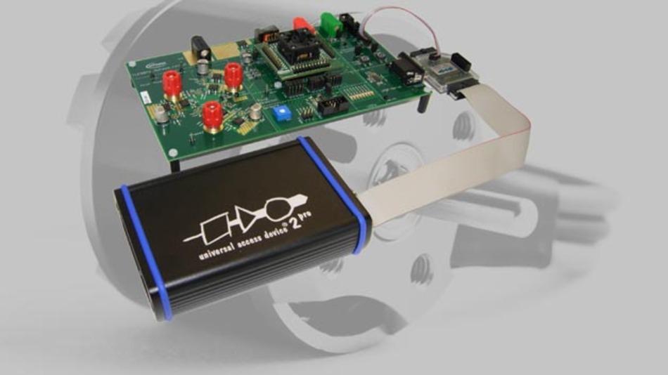 UDE 4.3.4 von PLS für Infineons IC-Serien TLE986x und TLE987x.