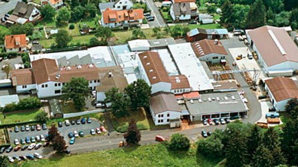 Das Firmengelände von AKH in Homberg (Efze)
