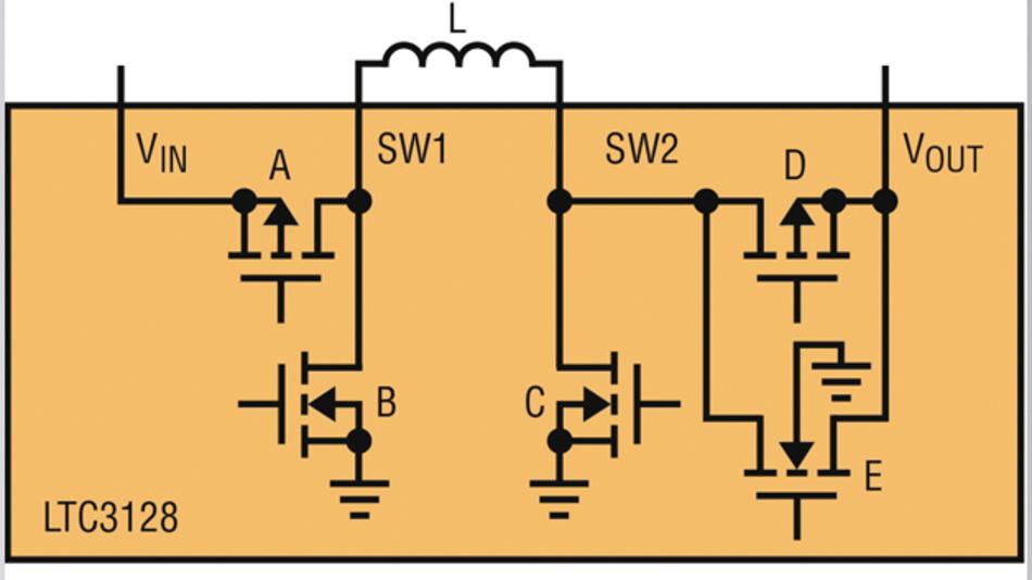 Bild 3: Ladetopologie des LTC3128