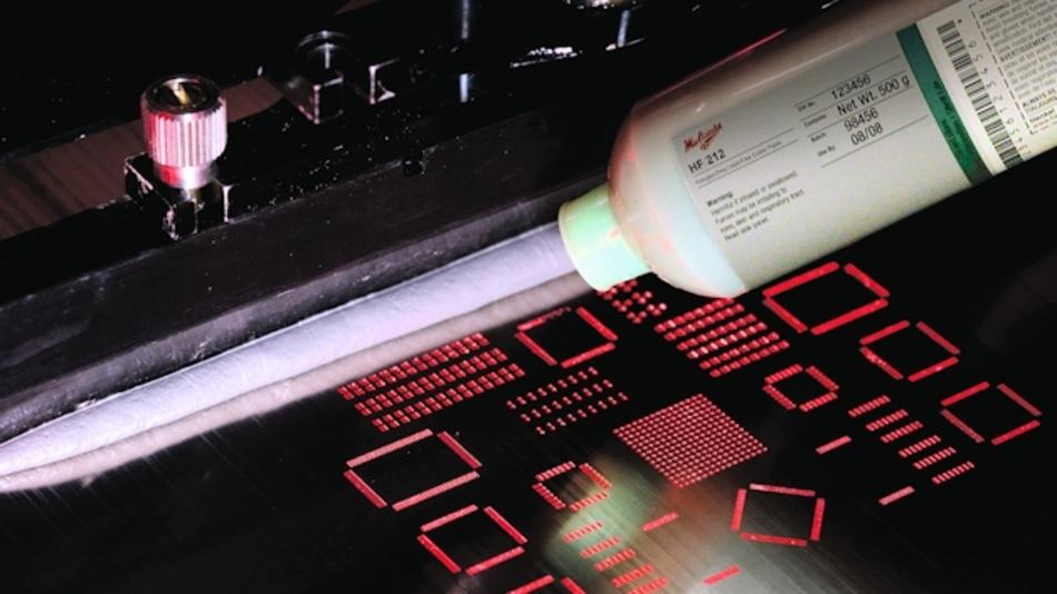 Die Lötpaste Loctite Multicore HF 212 ist für die Montage moderner hochwertiger Leiterplatten geeignet.