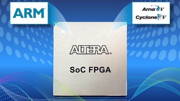 Die Cyclone V SoC-FPGAs von Altera kommen für Audis Piloted-Driving-Technik zum Einsatz.
