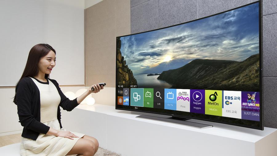 Samsung Fernseher des Modelljahres 2015 laufen mit den Betriebssystem Tizen.