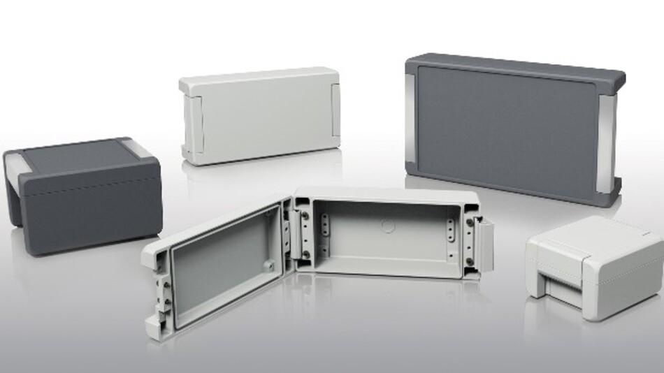 Boplas Gehäusefamilie Bocube Alu aus Aluminium schützt Elektronik auch in rauer Umgebung.