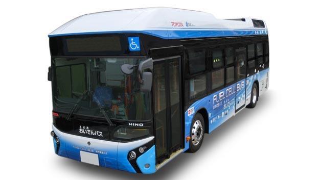 Im Januar 2015 wird erstmals in Japan ein Brennstoffzellenbus im Linienverkehr testweise zum Einsatz kommen.