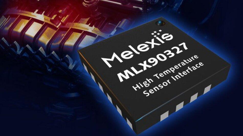 Der MLX90327 arbeitet im Betriebstemperaturbereich von -40 bis +155 °C.