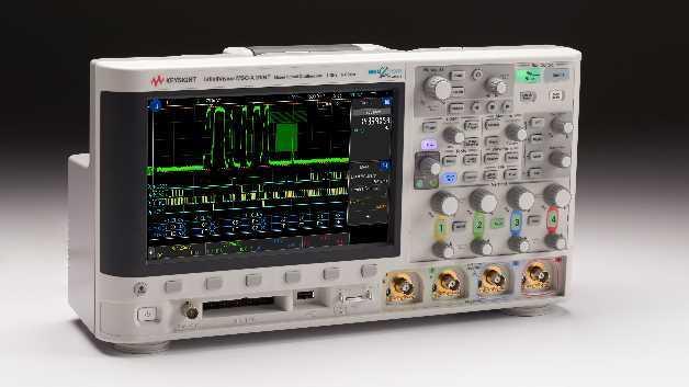 Die InfiniiVision-3000T-X-Oszilloskop-Serie von Keysight Technologies mit kapazitivem Touchscreen und Zonentriggerung