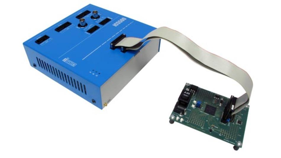 iC5500: Hardware-Debugger mit varabler Prozessor-Schnittstelle