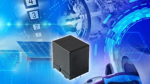 Panasonics kompaktes Hochstrom-Relais HES schaltet Ströme von bis zu 35 A.
