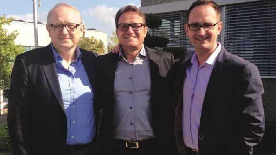 Das Management-Team von GL Optic: Jan Lalek (F&E), Michael Gall (Geschäftsführer), Mikolaj Przybyla (Brand Director) - v.l.n.r.