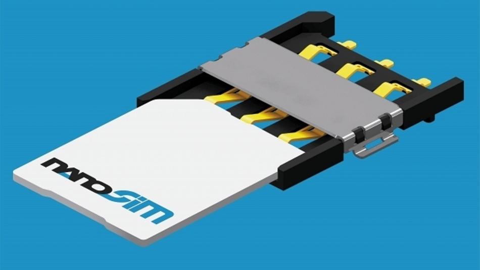 Nano-SIM-Steckverbindung
