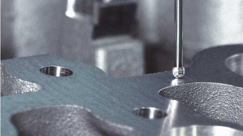 Interessant sind die derzeit mit den Durchmessern 2,1 und 5 mm erhältlichen diamantbeschichteten Diamond!Scan-Taster unter anderem für das Scannen von Aluminium, weil auf der Diamantschicht kein Auftrag von Material entsteht.