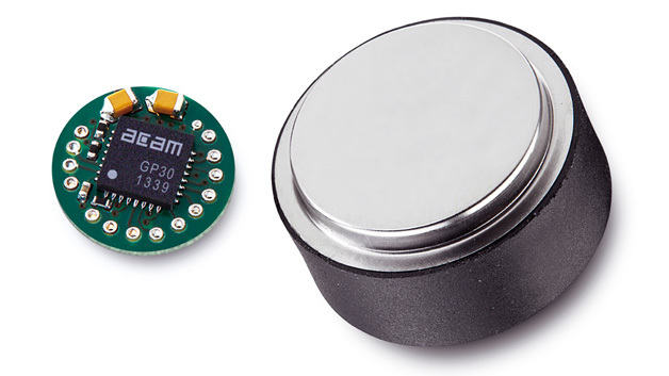 System-on-Chip für den Einsatz  in Ultraschall-Wasserzählern  vom Typ TDC-GP30