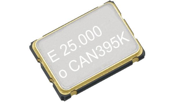 Epsons Quarz-Oszillator SG7050 mit unsymmetrischer CMOS-Ausgangsstufe gibt es für Betriebsspannungen von 1,8 bis 5,0 V.
