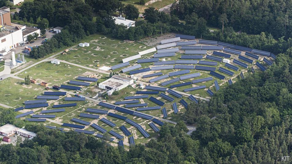 Der Solarstromspeicherpark des KIT: Das KIT koordiniert das Forschungsprogramm SCI der Helmhotz-Gemeinschaft.