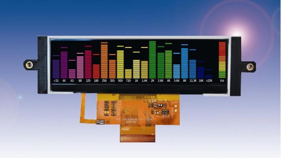 Für den Einbau in 1HE-Racks hat Densitron das nur 34 mm hohe TFT-Display »RipDraw 84-0208-000« konzipiert.