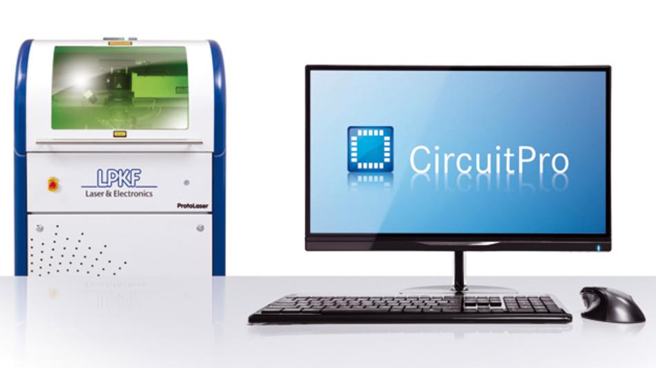 Höhere Präzision und schnellere Routinen  mit LPKF CircuitPro PL.